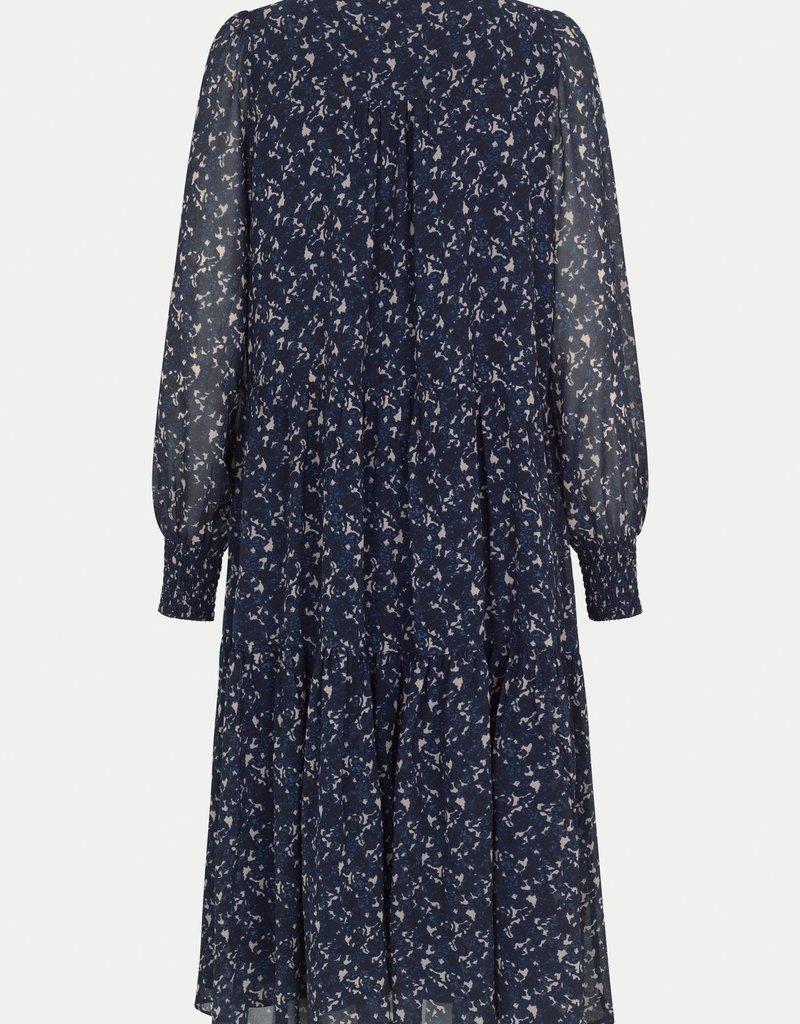 SECOND FEMALE NORRIE SHIRT DRESS BLUE