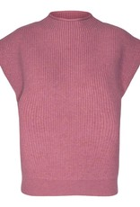 CO'COUTURE ROW WING KNIT RHUBARB