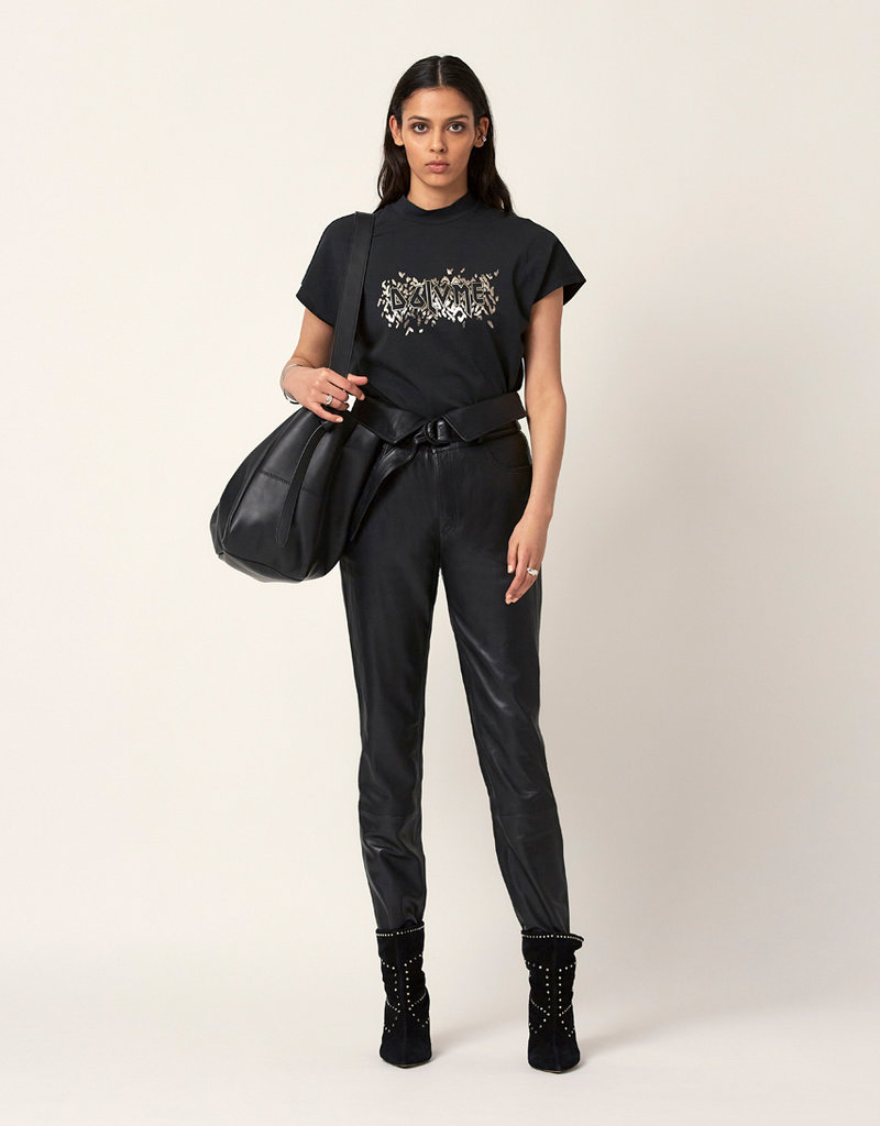 DANTE6 ROCKY TEE WASHED BLACK