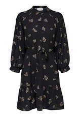 SELECTED FEMME SLFMARGUNN SHORT DRESS BLACK