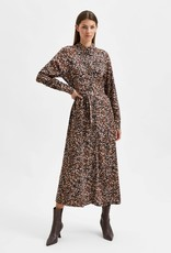 SELECTED FEMME SLFRONJA-ORANIA ANKLE DRESS BLACK