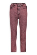 HOMAGE MARILYN NON STRECH JEANS OVERDYED GRAPE