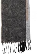 DANTE6 D6 LOGO SCARF BLACK