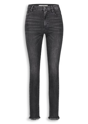 HOMAGE SARAH STRECHY STRAIGH JEANS WASHED BLACK