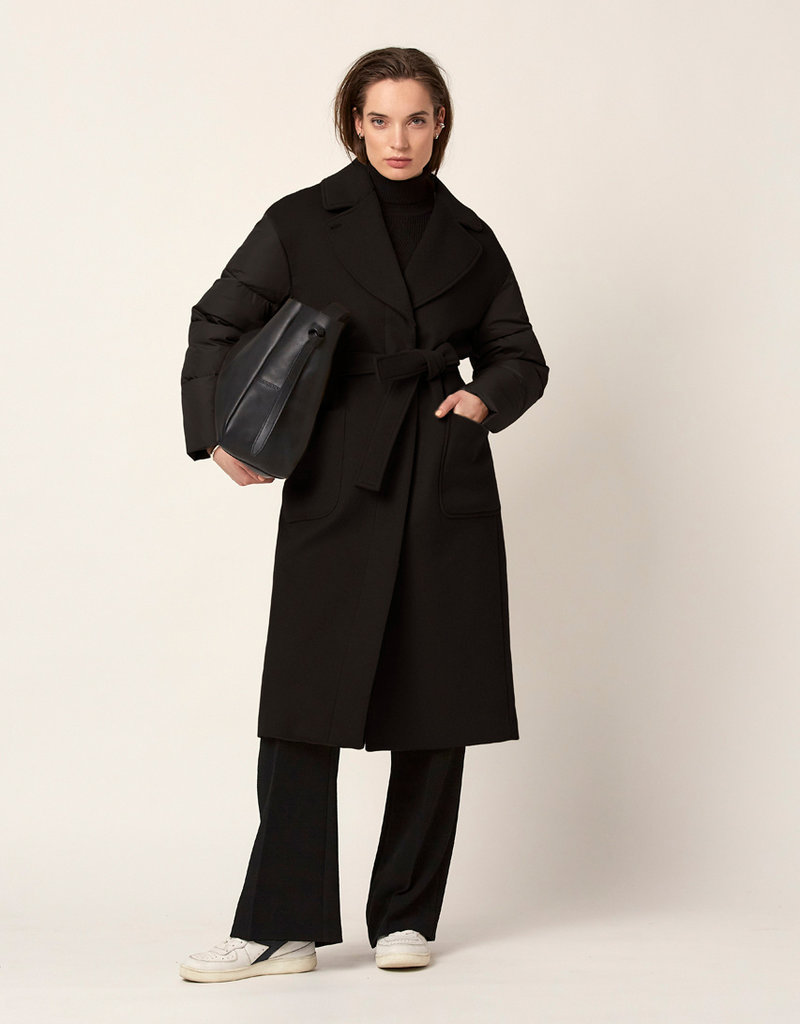 DANTE6 GOYELA COAT BLACK