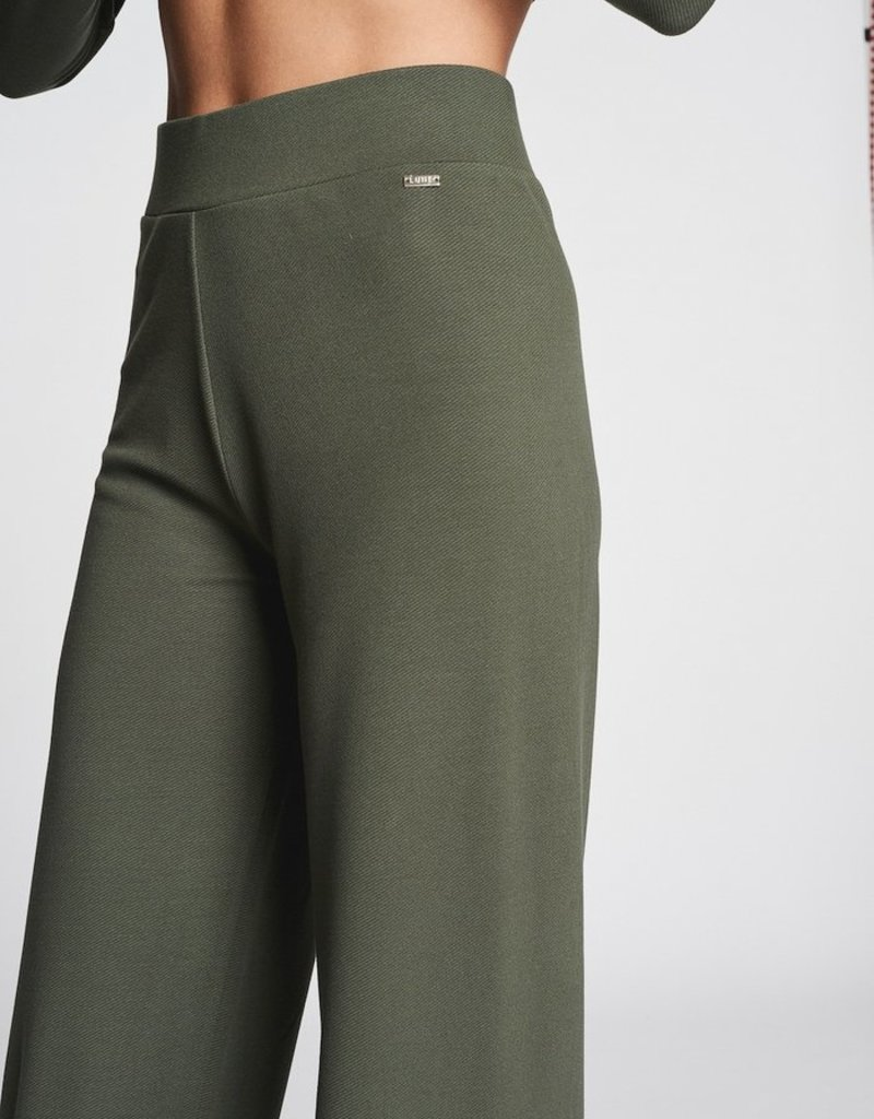 LUNE ACTIVE FOREST FLARE PINE GREEN