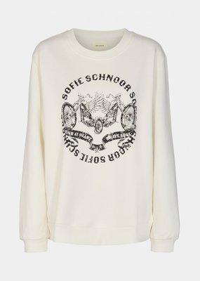 SOFIE SCHNOOR S214306 SWEATER OFF WHITE