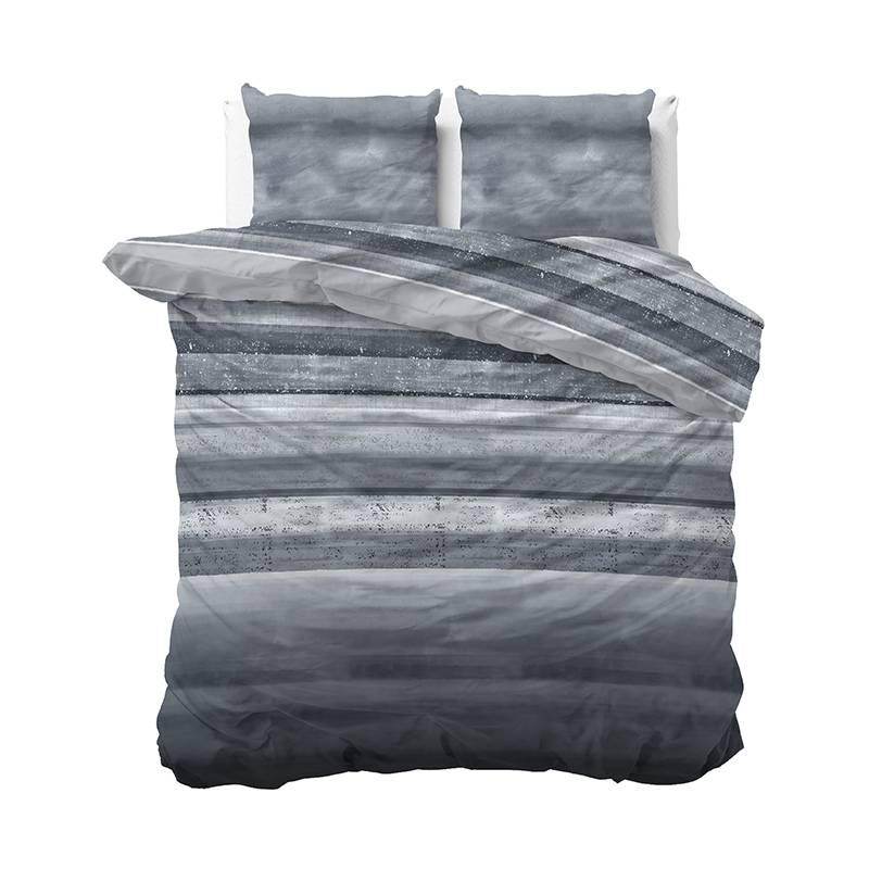 Sleeptime Elegance Marcus - Blauw 2-persoons (200 x 220 cm + 2 kussenslopen) Dekbedovertrek