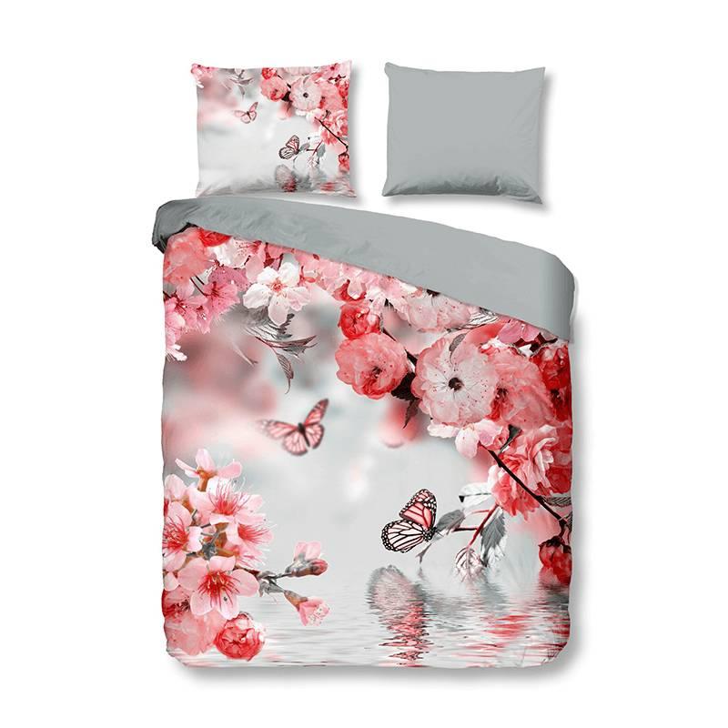 Productafbeelding voor 'Descanso Blossom Dreams 2-persoons (200 x 200/220 cm + 2 kussenslopen) Dekbedovertrek'