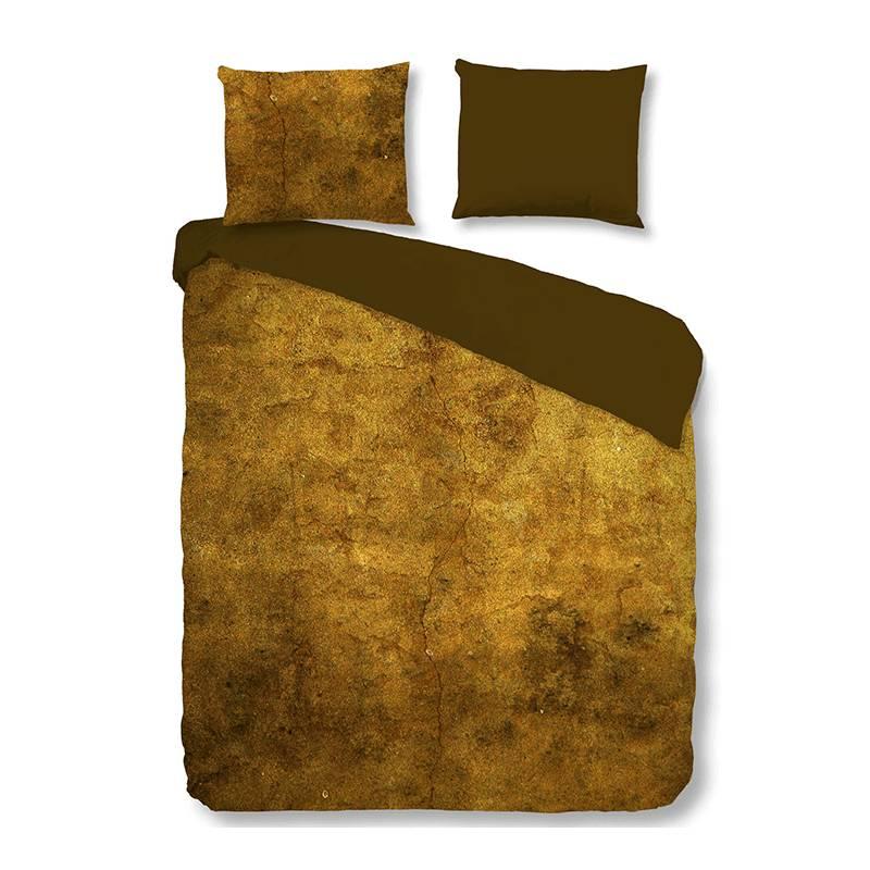 Productafbeelding voor 'Descanso Bronzed 1-persoons (140 x 200/220 cm + 1 kussensloop) Dekbedovertrek'