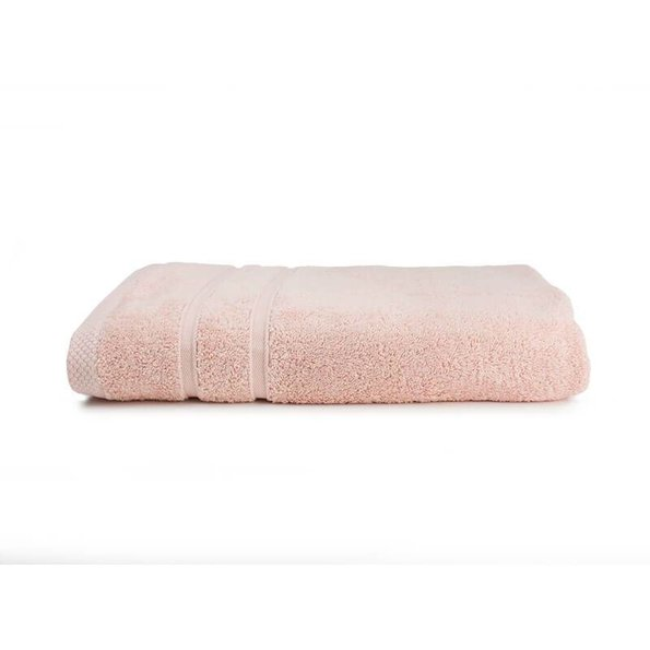 The One Towelling Handdoek  - Bamboo - Zalm