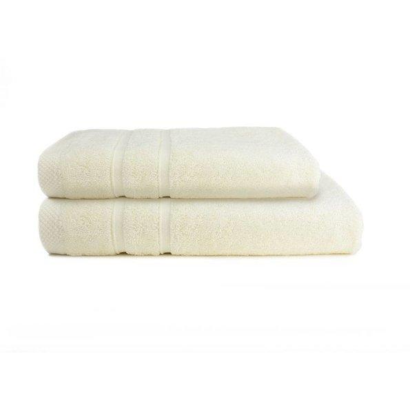 One Towelling Handdoek - Bamboo - Ivoor