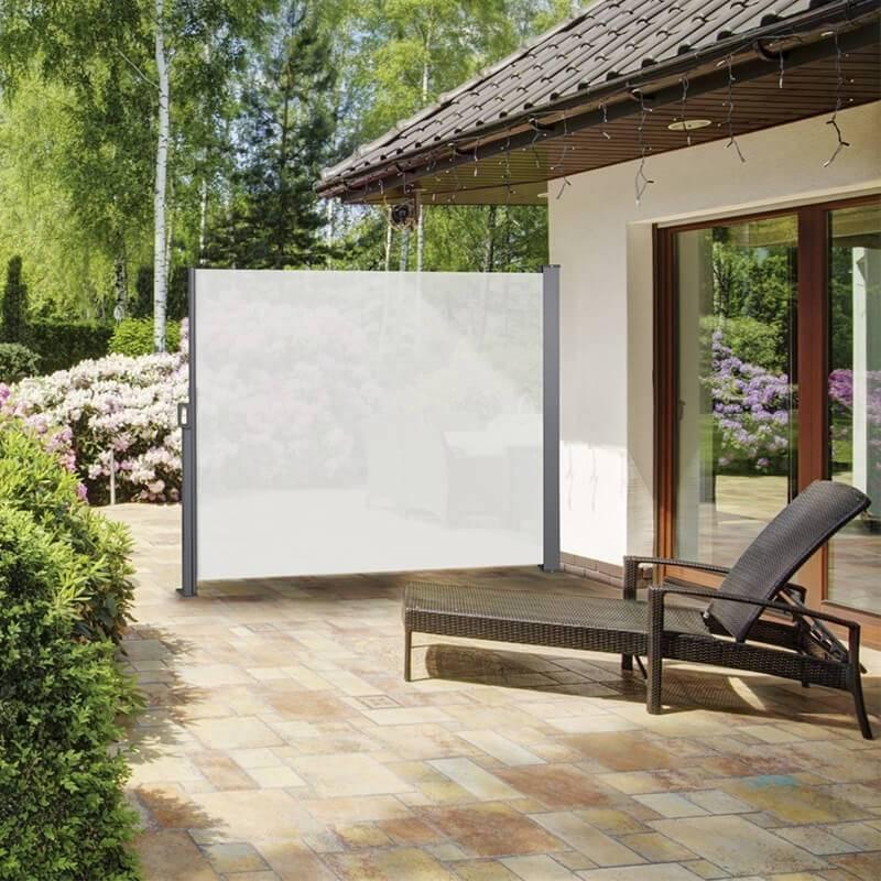 Afbeelding van 909 Outdoor Oprolbaar Windscherm Creme - 170 x 300 cm