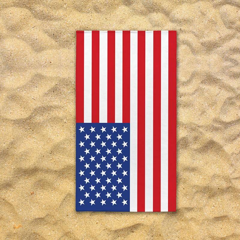 Productafbeelding voor 'Strandlaken - America 70 x 140'