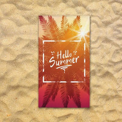 Strandlaken - Hello Summer