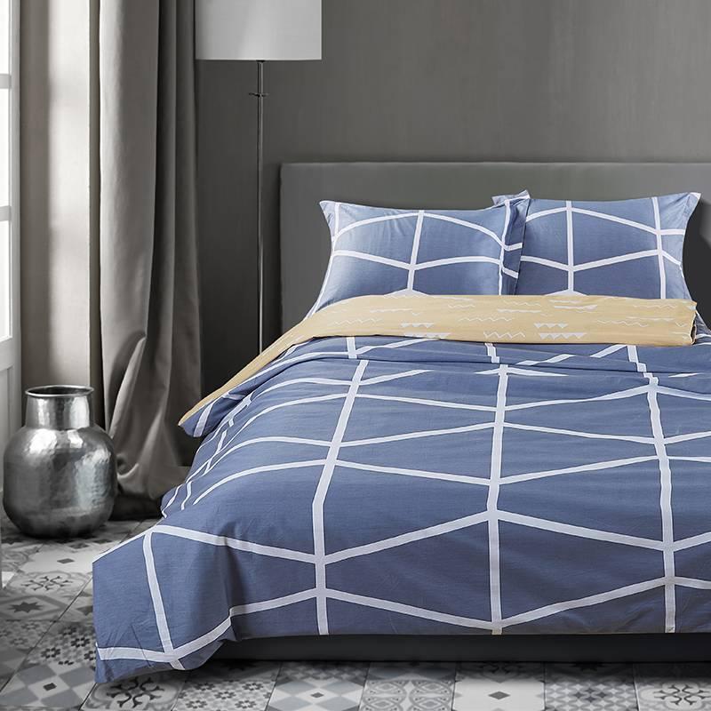 Productafbeelding voor 'Presence Stripe By Stripe 1-persoons (140 x 200/220 cm + 1 kussensloop) Dekbedovertrek'