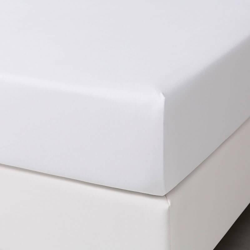 Dekbed-Discounter Jersey Stretch Hoeslaken - Wit 80/90 x 200/210