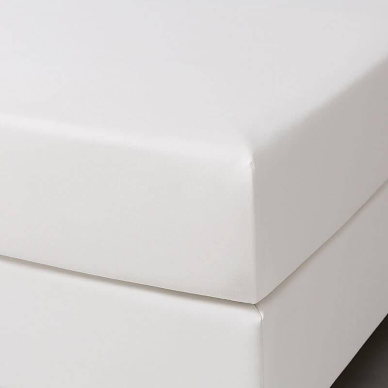 Dekbed-Discounter Jersey Stretch Hoeslaken - Creme 190/200 x 200/210
