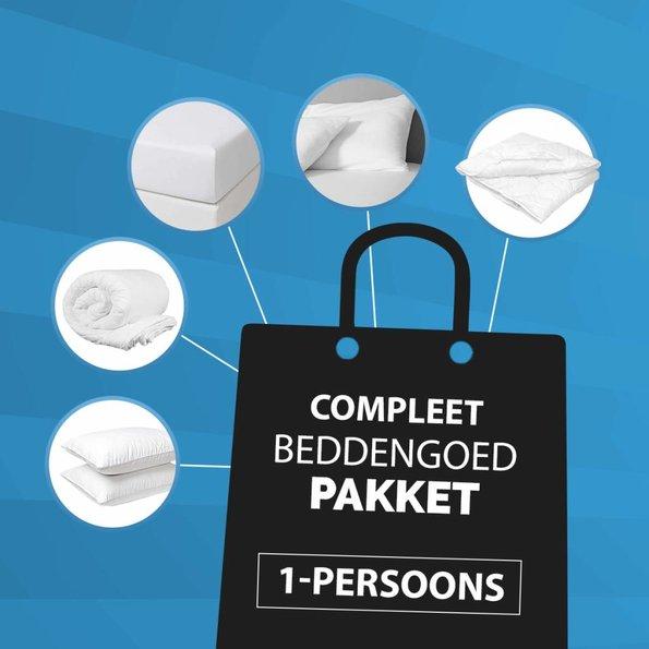 Dekbed-Discounter Compleet 1-Persoons Beddengoed Pakket