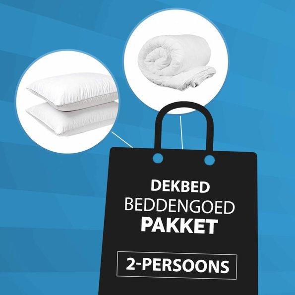 Dekbed-Discounter 2-Persoons - Dekbed + Kussen Pakket