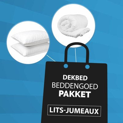 Lits-Jumeaux - Dekbed + Kussen Pakket