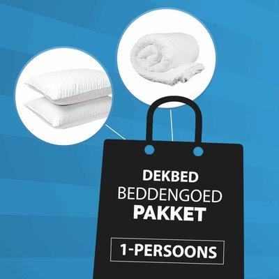 1-Persoons - Dekbed + Kussen Pakket