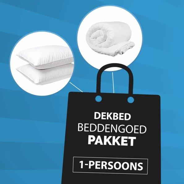 Dekbed-Discounter 1-Persoons Dekbed + Kussen Pakket