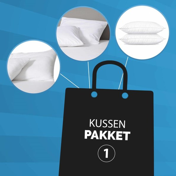 Dekbed-Discounter Combi Kussenpakket 1