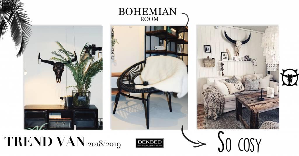 6 tips voor een bohemian look in jouw slaapkamer!