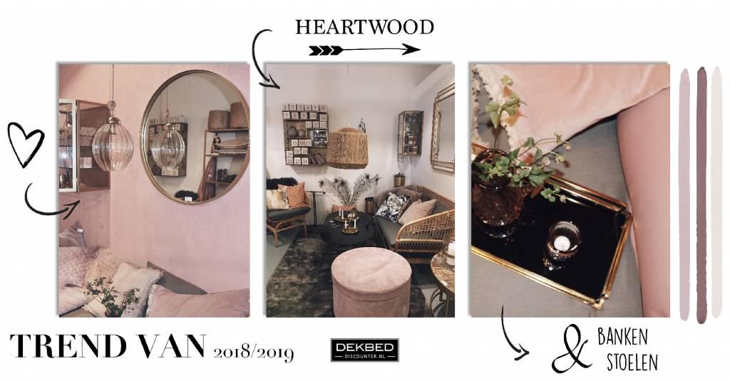 Dé heartwood trend!