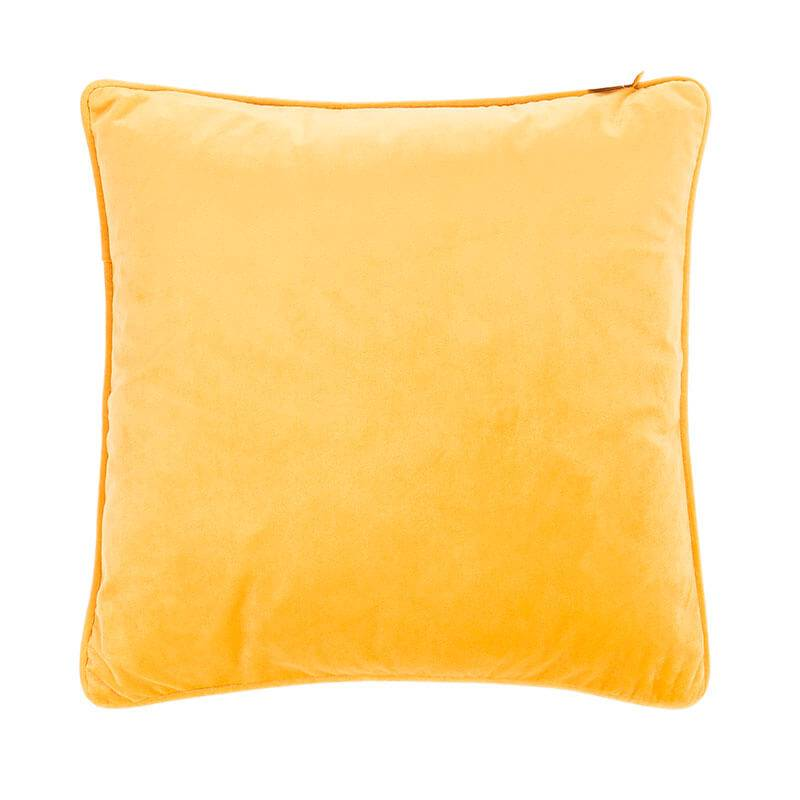 Tiseco Home Studio Sierkussen Velvet – Geel kopen