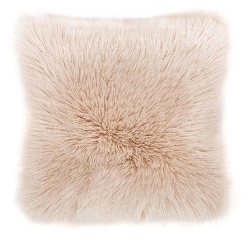 Tiseco Home Studio Sierkussen - Fluffy - Creme
