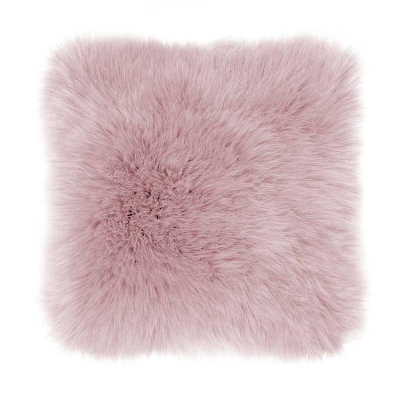 Tiseco Home Studio Sierkussen - Fluffy - Roze