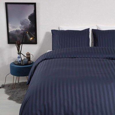 Satin Stripes - Blauw