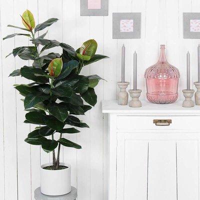Kunstplant - Ficus Elastica - Rubberplant