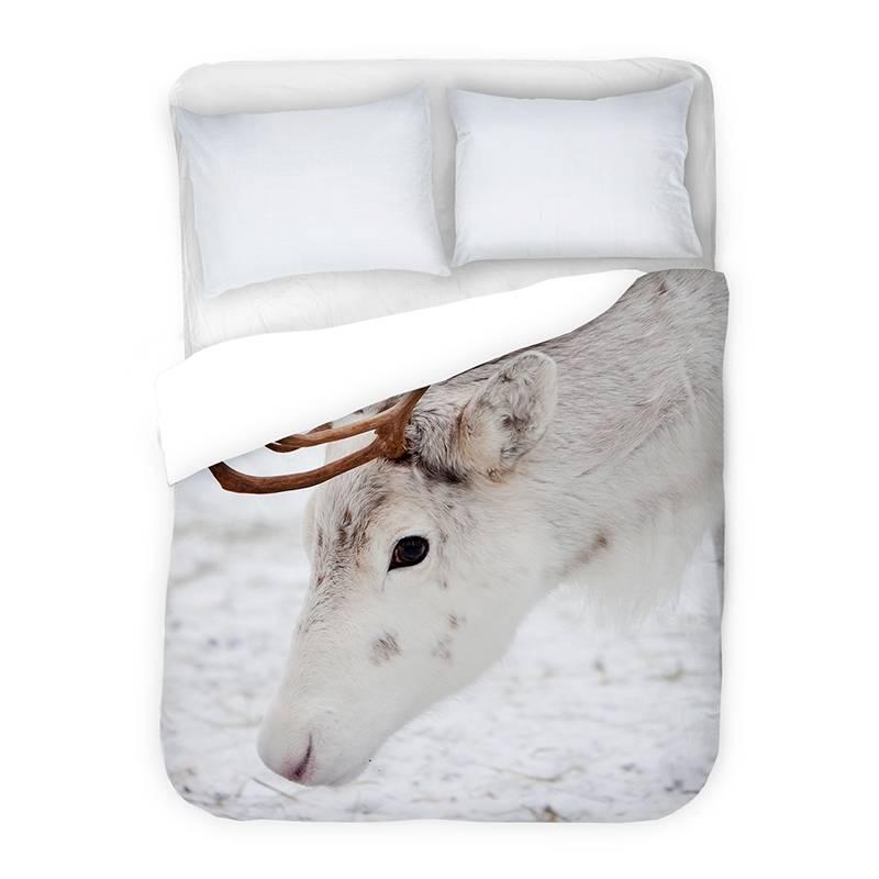 DLC Snow Deer 2-persoons (200 x 220 cm + 2 kussenslopen)