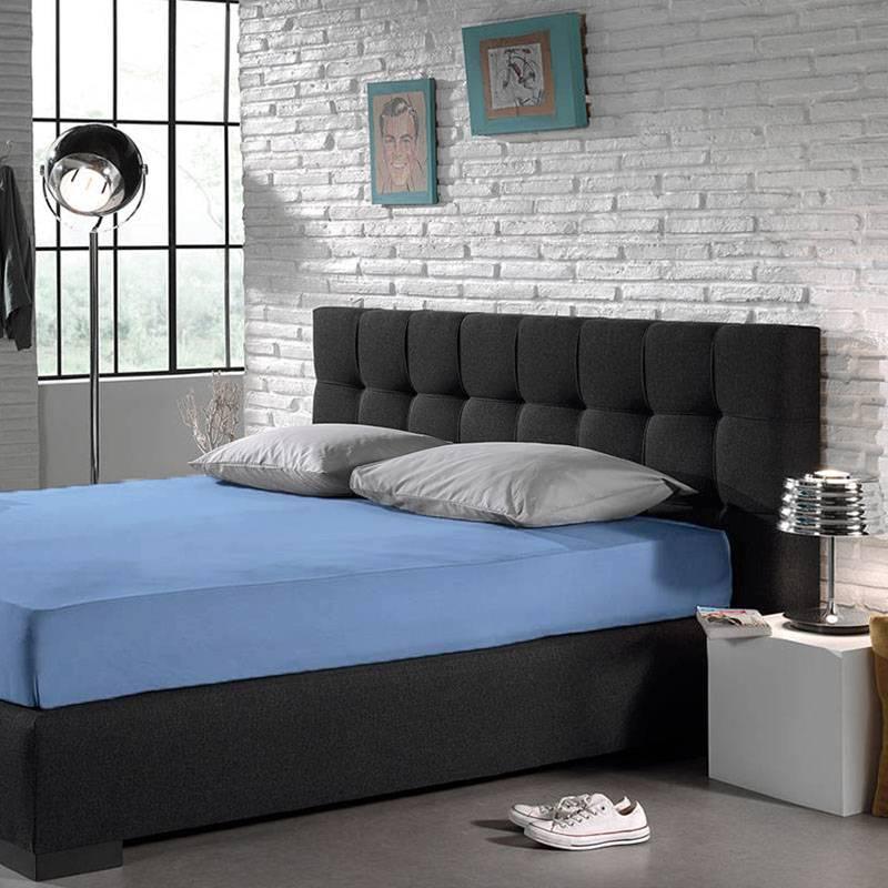 Home Care Hoeslaken - Blended Katoen - Blauw 180 x 200