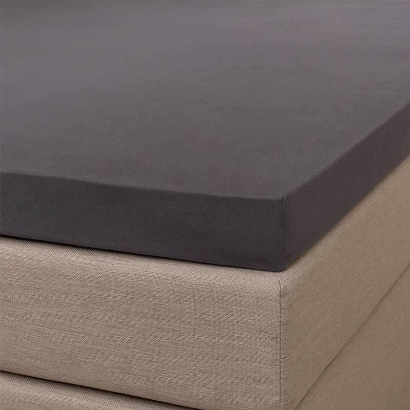 Signature Jersey Topper Hoeslaken - Signature - Antraciet 160 x 200/210