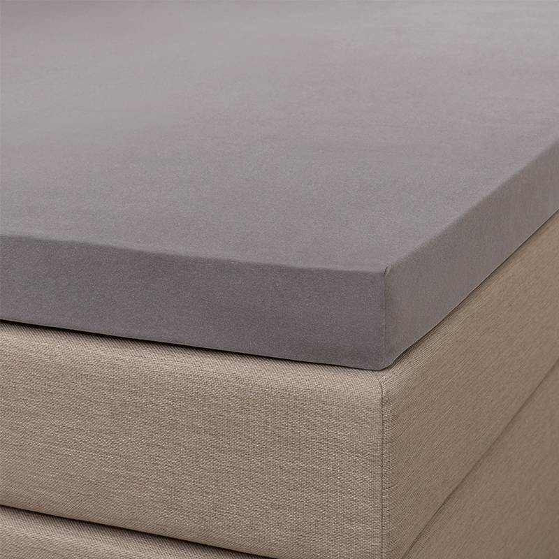 Signature Jersey Splittopper Hoeslaken - Signature - Grijs 200 x 200/210