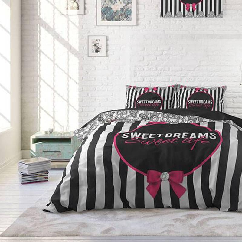 DreamHouse Bedding Sweet Life Lits-jumeaux (240 x 220 cm + 2 kussenslopen)