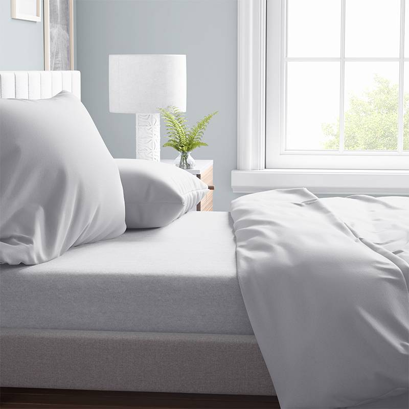 DreamHouse Bedding Verwarmend Laken Flanel - Wit 260 x 250 cm