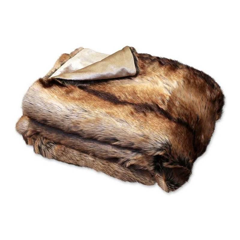Unique Living Plaid - Brisbane Fake Fur