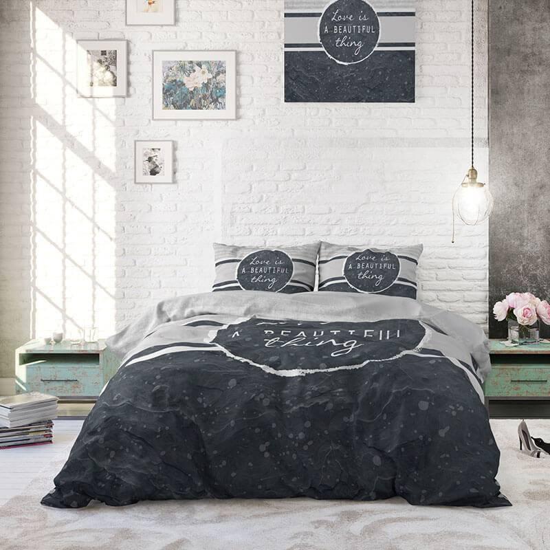 DreamHouse Bedding Beautiful Thing 2-persoons (200 x 220 cm + 2 kussenslopen) Dekbedovertrek