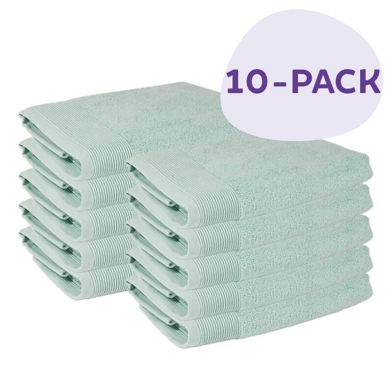 Afbeelding van 10 PACK Presence Handdoeken 50 x 100 cm Mint