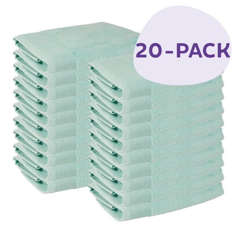 Afbeelding van 20 PACK Presence Handdoeken 50 x 100 cm Mint