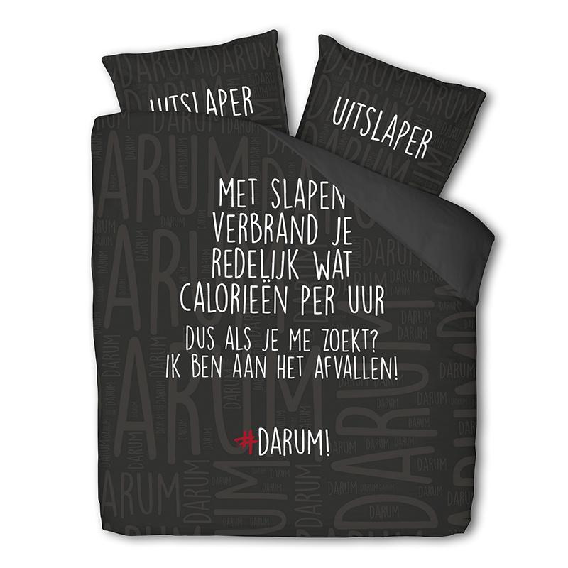 #DARUM! #DARUM! Afvallen 1-persoons (140 x 240 cm + 1 kussensloop)