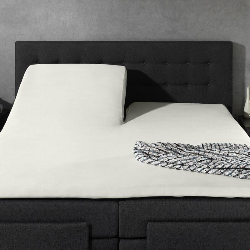 Home Care 2-PACK: Splittopper Jersey - Home Care Creme 200 x 200/210/220 cm