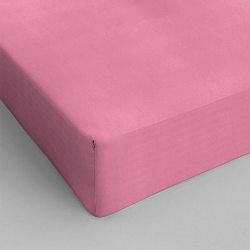 DreamHouse Bedding 2-PACK Verkoelende Hoeslakens Katoen - Roze 70 x 200