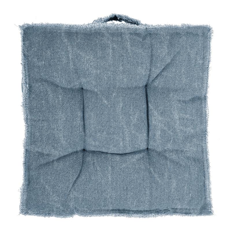 Matraskussen - Chester - Blauw Tiseco Home Studio - Ga naar Dekbed-Discounter.nl & Profiteer Nu