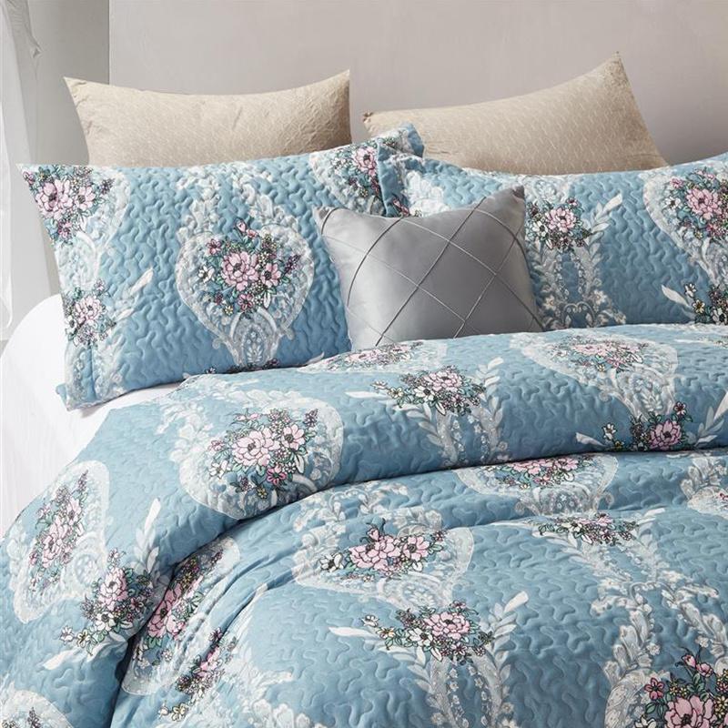 DreamHouse Bedding Bedsprei Retro Flower 180 x 250 cm